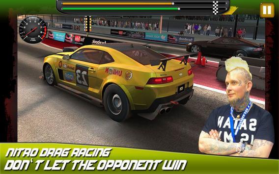 Fast cars Drag Racing game ScreenShot1