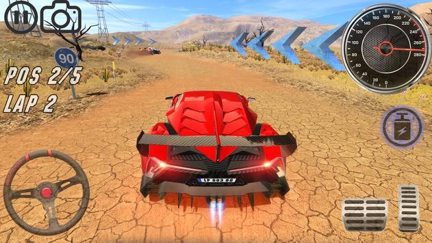 Lambo Car Simulator ScreenShot1