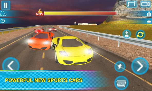 Airborne Real Car Racing Free Game ScreenShot1