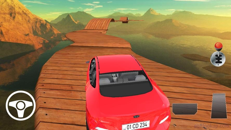 Car Racing On Impossible Tracks ScreenShot1