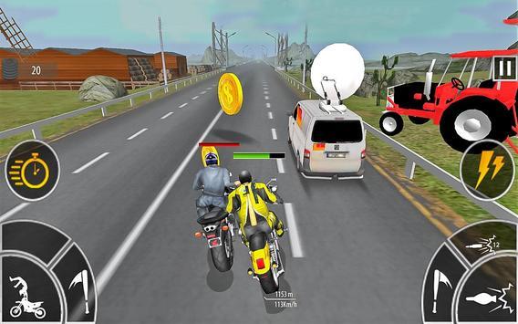 Moto Bike Attack Race 3d games ScreenShot1