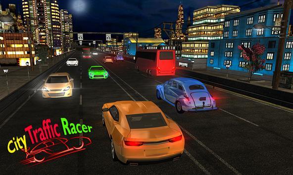 racing in car 2018  city traffic racer driving ScreenShot1