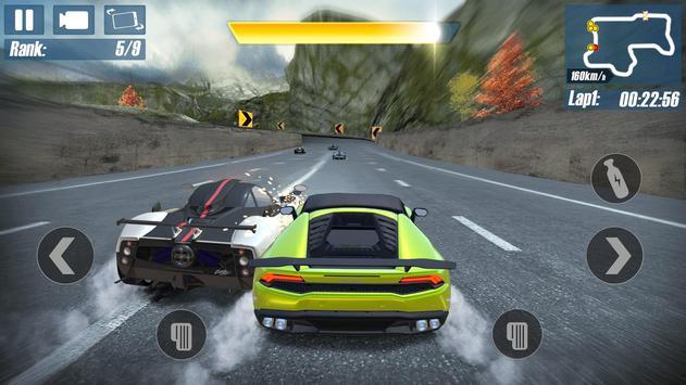 Real Road RacingHighway Speed Car Chasing Game ScreenShot1