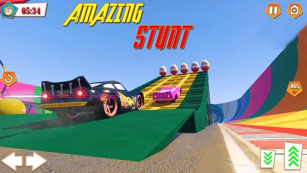 Mcqueen Cars Superhero Lightning Race ScreenShot1