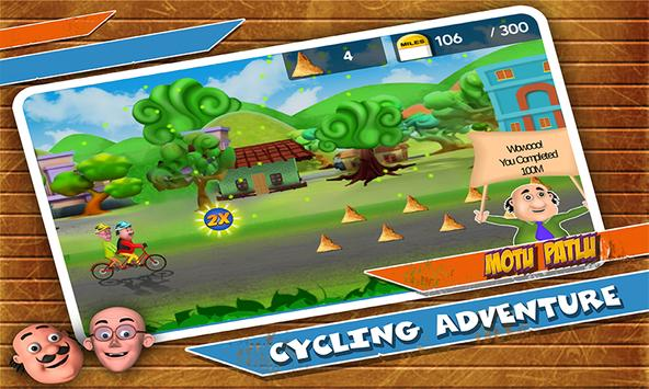 Motu Patlu Cycling Adventure ScreenShot1