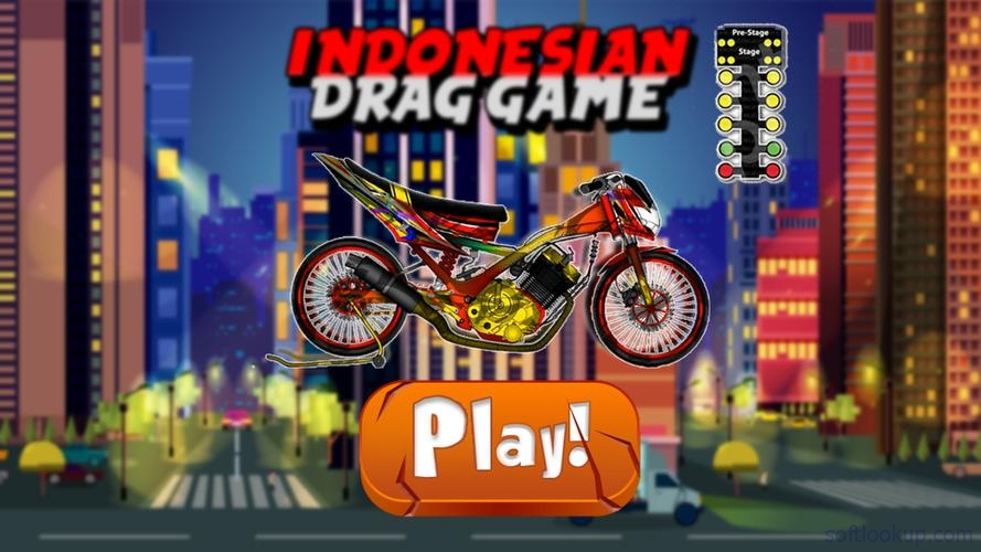 Indonesian Drag Bike Racing ScreenShot1