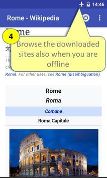 Offline Browser ScreenShot2