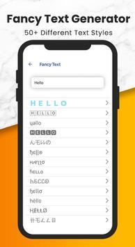 Fancy Text + Sticker Maker (WAStickerApps) ScreenShot2