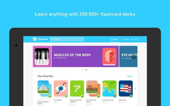 Tinycards by Duolingo: Fun and Free Flashcards ScreenShot2