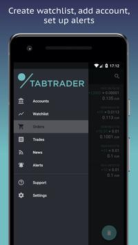 TabTrader Buy Bitcoin and Ethereum on exchanges ScreenShot2