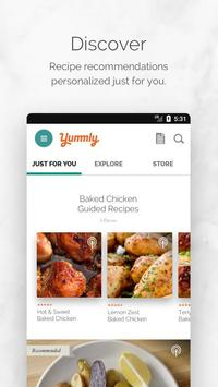 Yummly Recipes and Shopping List