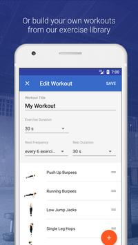 HIIT and Cardio Workout by Fitify ScreenShot2