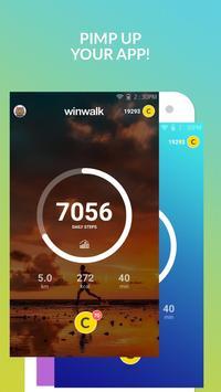 winwalk pedometer - walk, run, sweat and win rewards