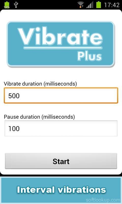 Vibrate Plus ScreenShot2