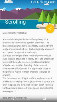 Material Design Demo