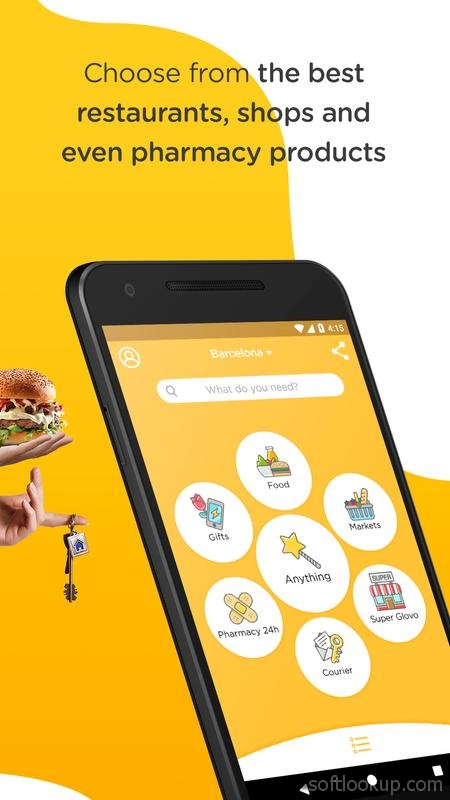 Glovo: delivery from any store