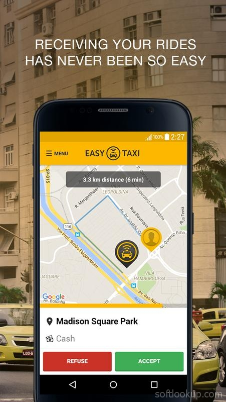 Easy Taxi - For Drivers ScreenShot2