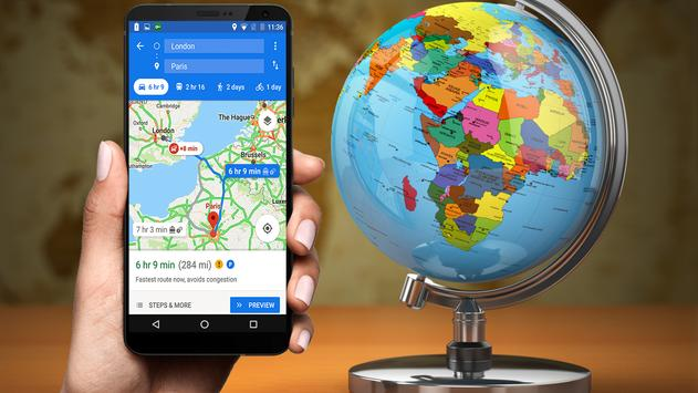 Maps GPS Navigation Route Directions Location Live