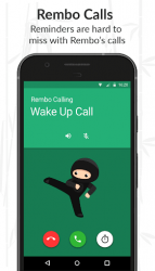 Rembo - Reminder, Alarm and To-Do Chatbot ScreenShot2