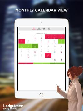 Ladytimer Ovulation and Period Calendar ScreenShot2