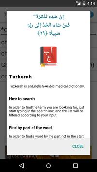Tazkerah Medical Dictionary