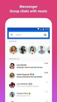 """Soundsâ""""¢ - #1 Social Music App ScreenShot2"""