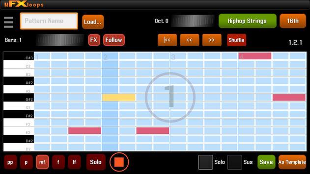 uFXloops Music Studio ScreenShot2