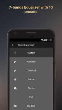 Equalizer music player booster ScreenShot2