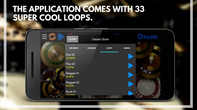 Classic Drum - The best way to play drums!