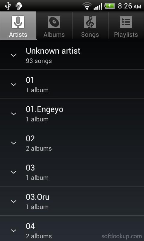 Default Music Player ScreenShot2