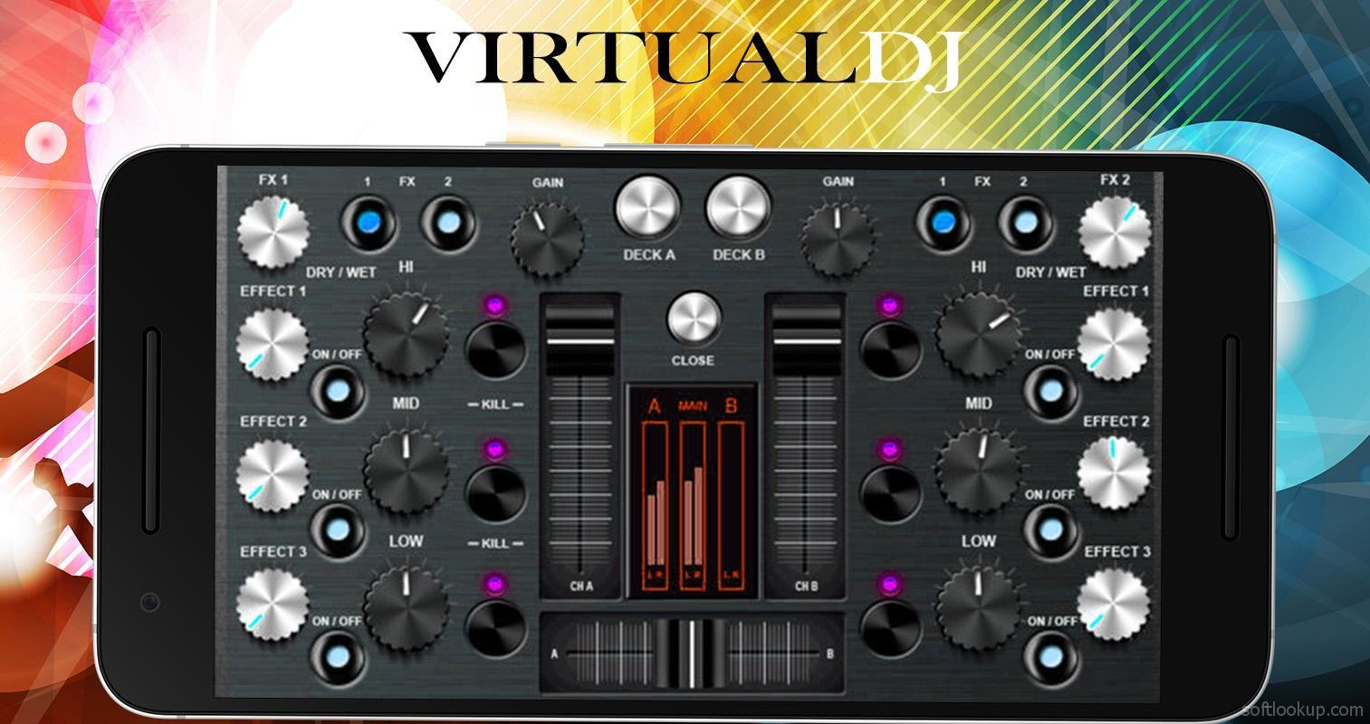 Virtual DJ Mixer 8ًںژ› Djing Song Mixer and Controller ScreenShot2