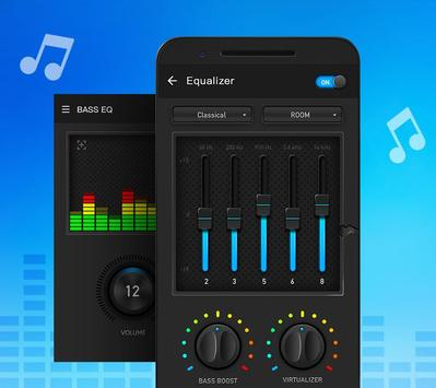 Equalizer and Bass Booster ScreenShot2
