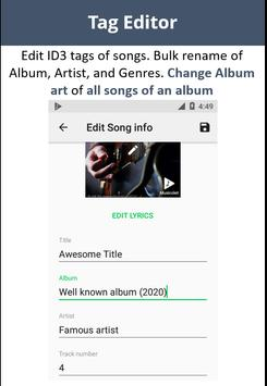Musicolet Music Player [Free, No ads] ScreenShot2