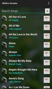 Midifun Karaoke ScreenShot2