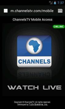 ChannelsTV Mobile for Androids ScreenShot2