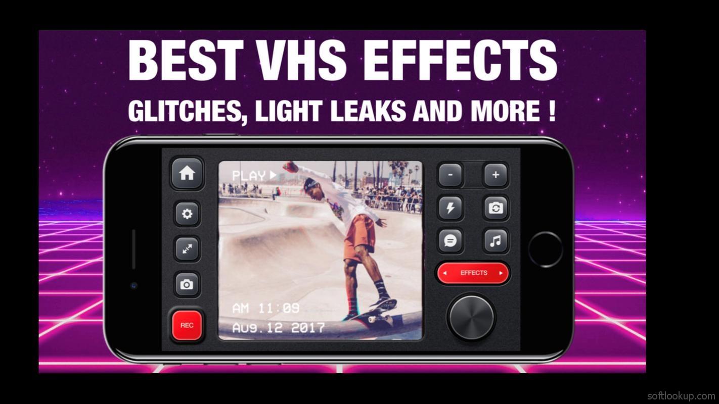 RAD VHS- Glitch Camcorder VHS Vintage Photo Editor 0 43 Free