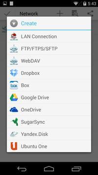 CM FILE MANAGER HD ScreenShot2