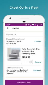 Wayfair - Shop All Things Home ScreenShot2