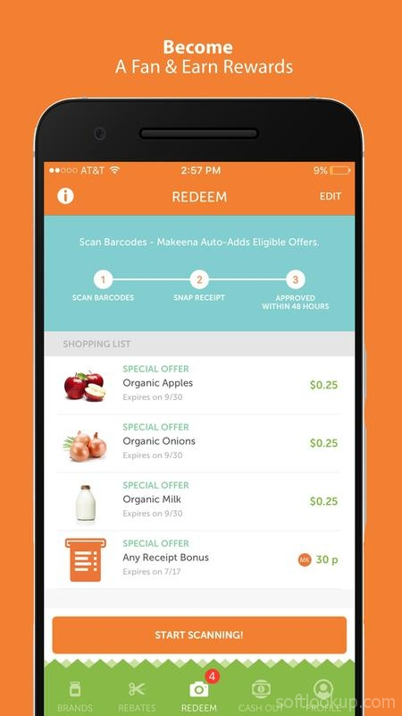 Makeena: Earn $ for Buying Healthy Products ScreenShot2