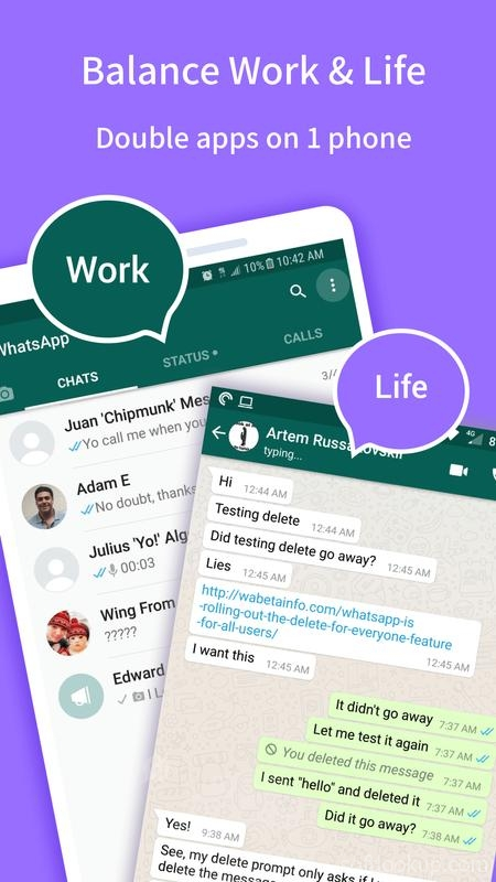 Multichat - 2 accounts for 2 whatsapp and App clone 5 21 11 APK Free