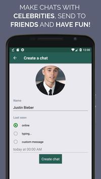WhatsFake Pretend Fake Chats ScreenShot2