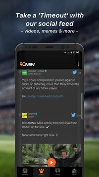 90min - Live Soccer News App ScreenShot2