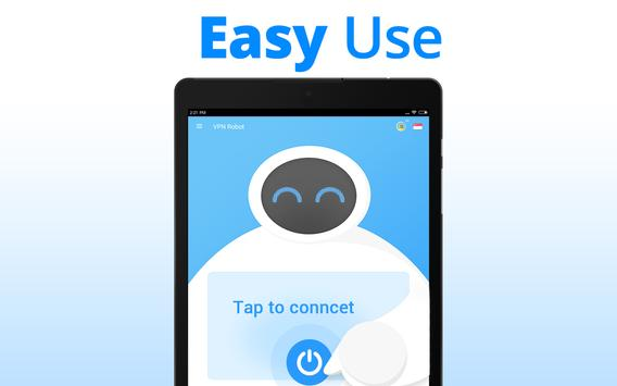 VPN Robot -Free Unlimited VPN Proxy andWiFi Security