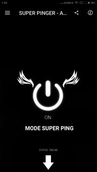 SUPER PINGER - Anti Lag For All Mobile Game Online