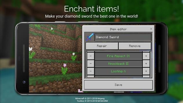 Toolbox for Minecraft: PE ScreenShot2
