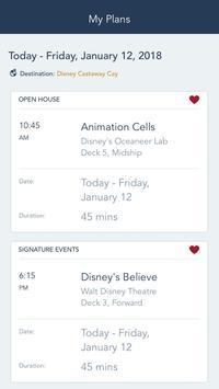 Disney Cruise Line Navigator ScreenShot2