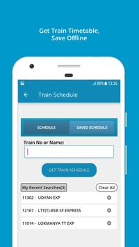 Indian Rail Train Info ScreenShot2