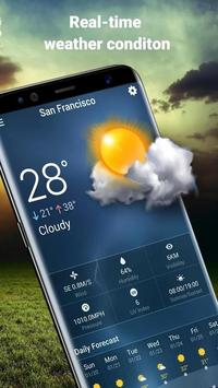Easy weather forecast app free