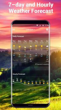 Weather Forecast and Clock Widget