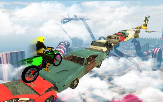 Bike Impossible Tracks Race: 3D Motorcycle Stunts ScreenShot2